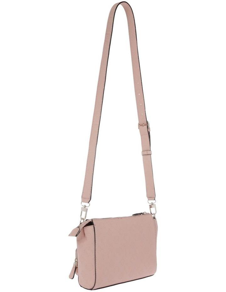 Ilenia Zip-Top Crossbody Bag in Peach image 2