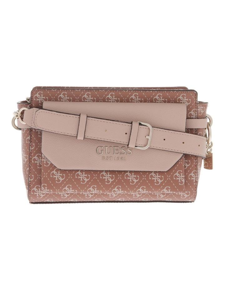 Esme Zip-Top Crossbody Bag in Cinnamon Brown image 1
