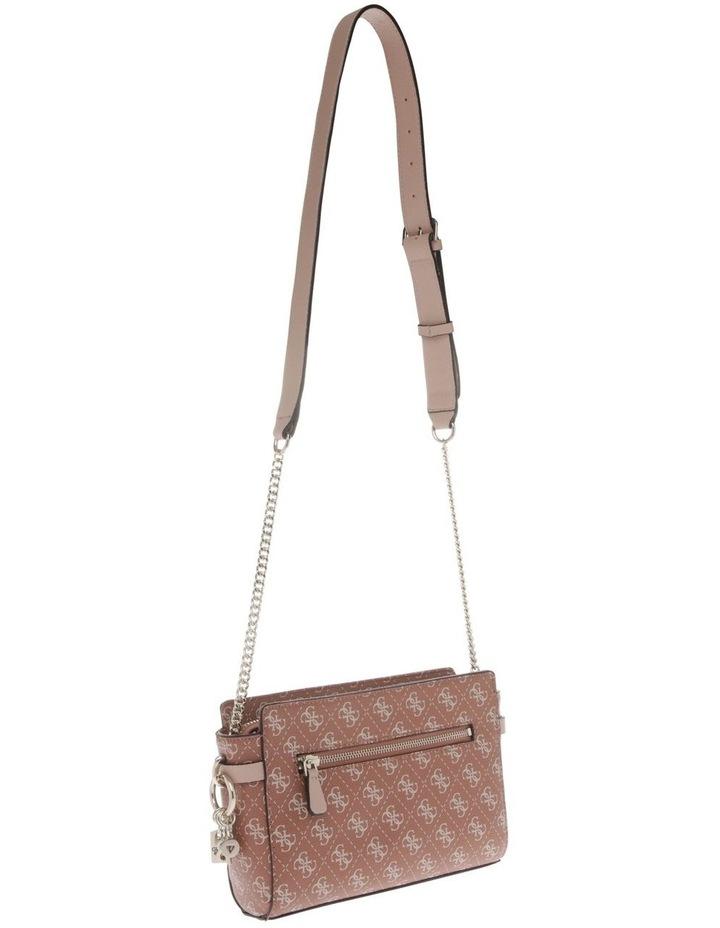 Esme Zip-Top Crossbody Bag in Cinnamon Brown image 2