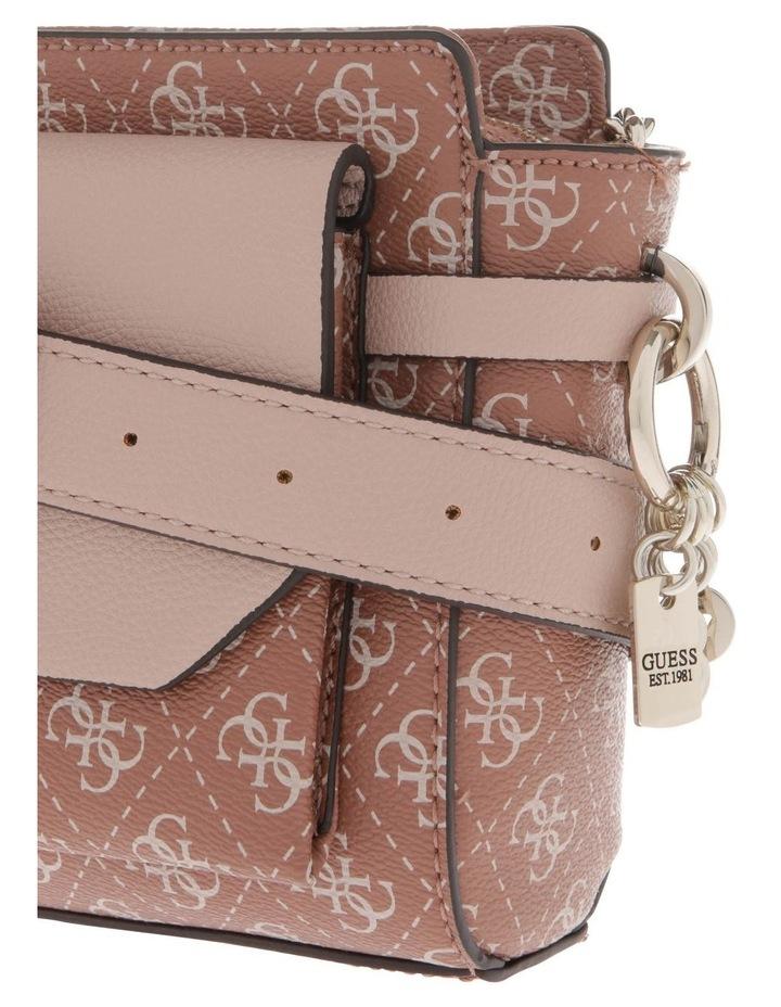 Esme Zip-Top Crossbody Bag in Cinnamon Brown image 3