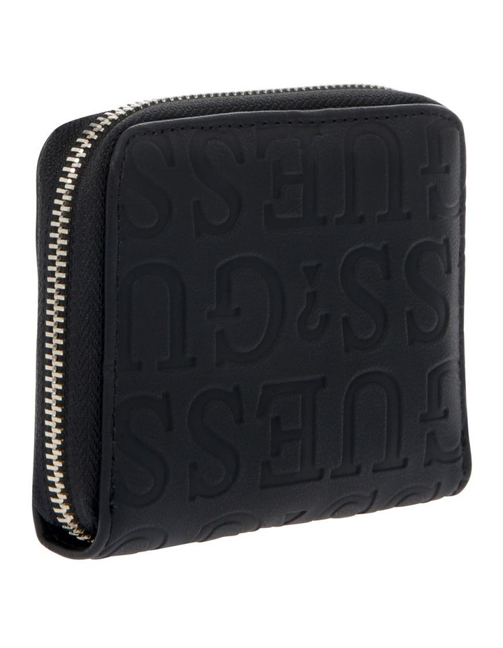 Kamryn Zip-Around Wallet in Black image 2
