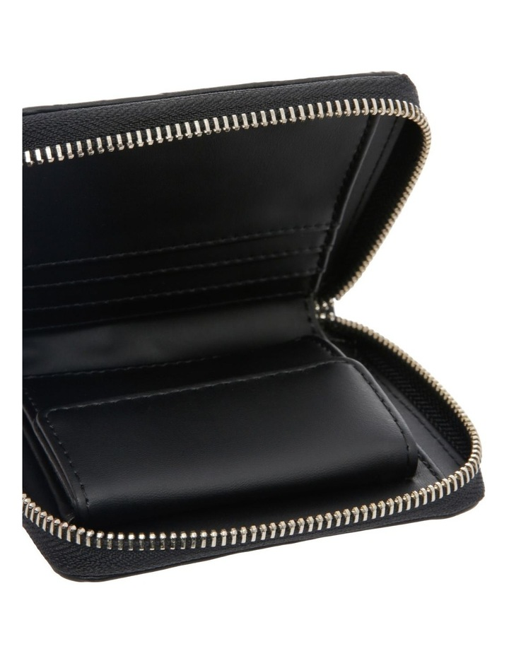 Kamryn Zip-Around Wallet in Black image 3