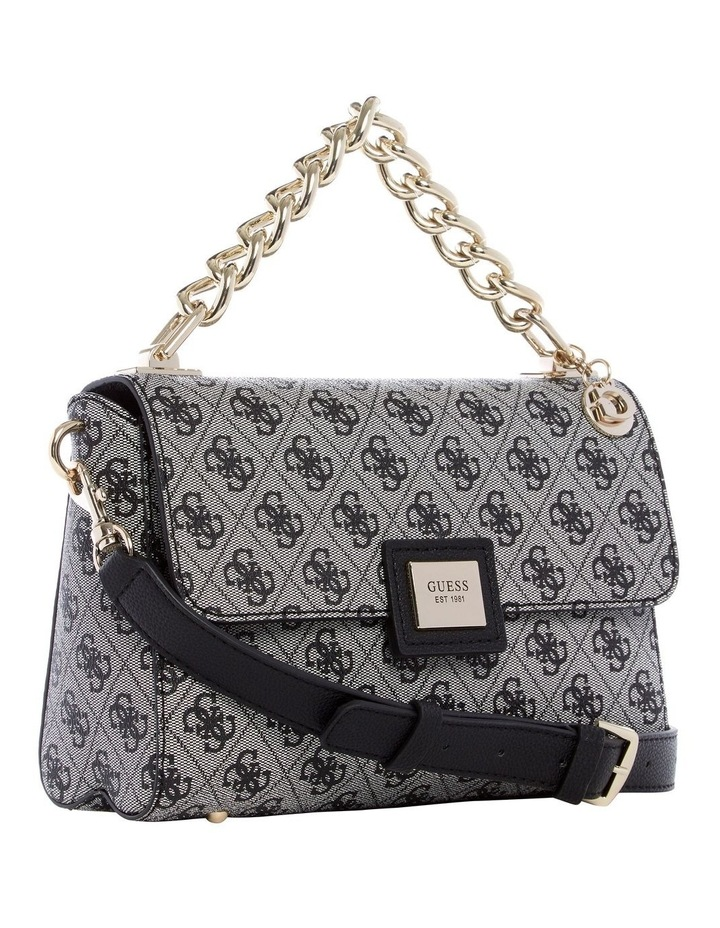 SG766818BLA Candace Flap Over Crossbody Bag image 3