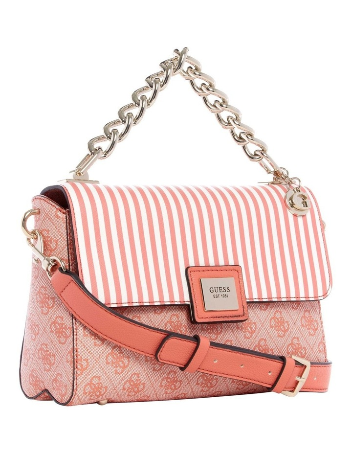 ST766818COR Candace Flap Over Crossbody Bag image 3