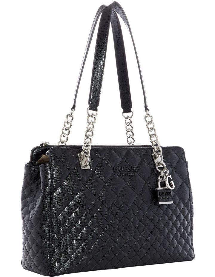 SY766609BLA Queenie Double Handle Shoulder Bag image 3
