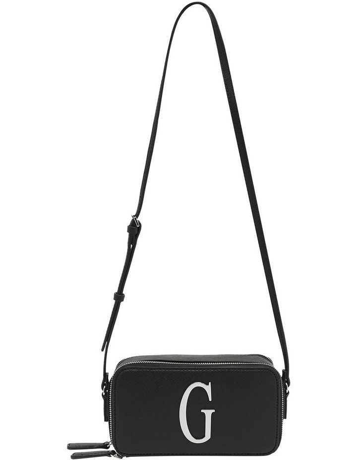 SF765814BLA Jarah Zip Top Crossbody Bag image 1
