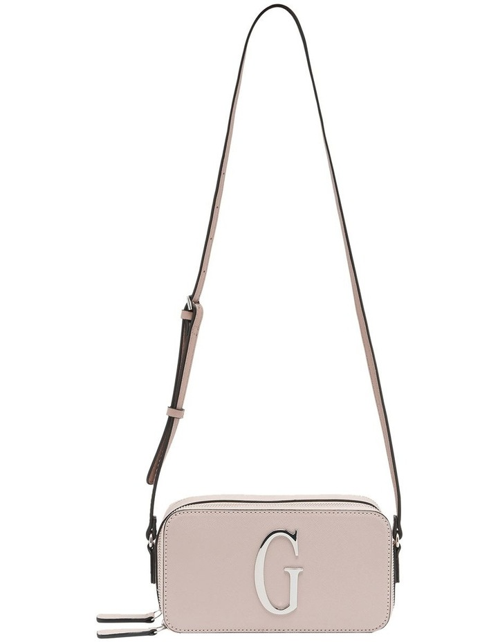 SF765814BSM Jarah Zip Top Crossbody Bag image 1