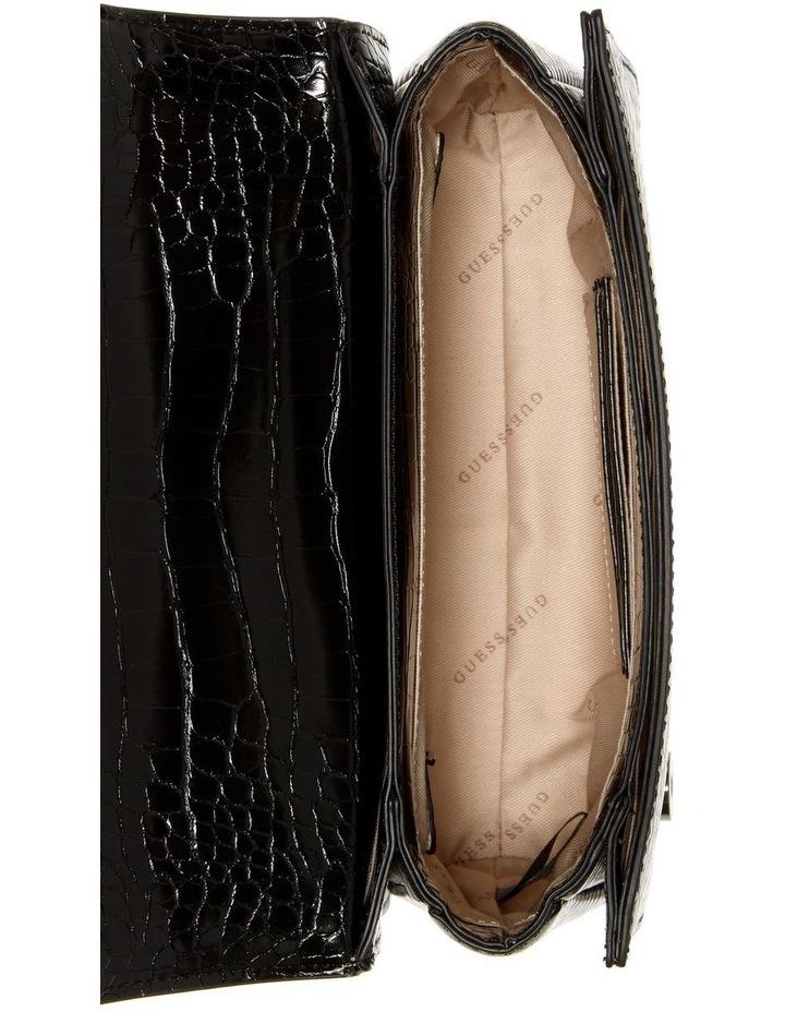 CM787021BLA Katey Flap Over Crossbody Bag image 4