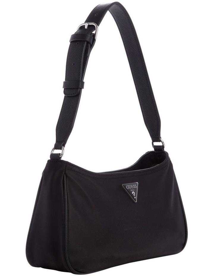 NY811618BLA LITTLE BAY Zip Top Shoulder Bag image 4
