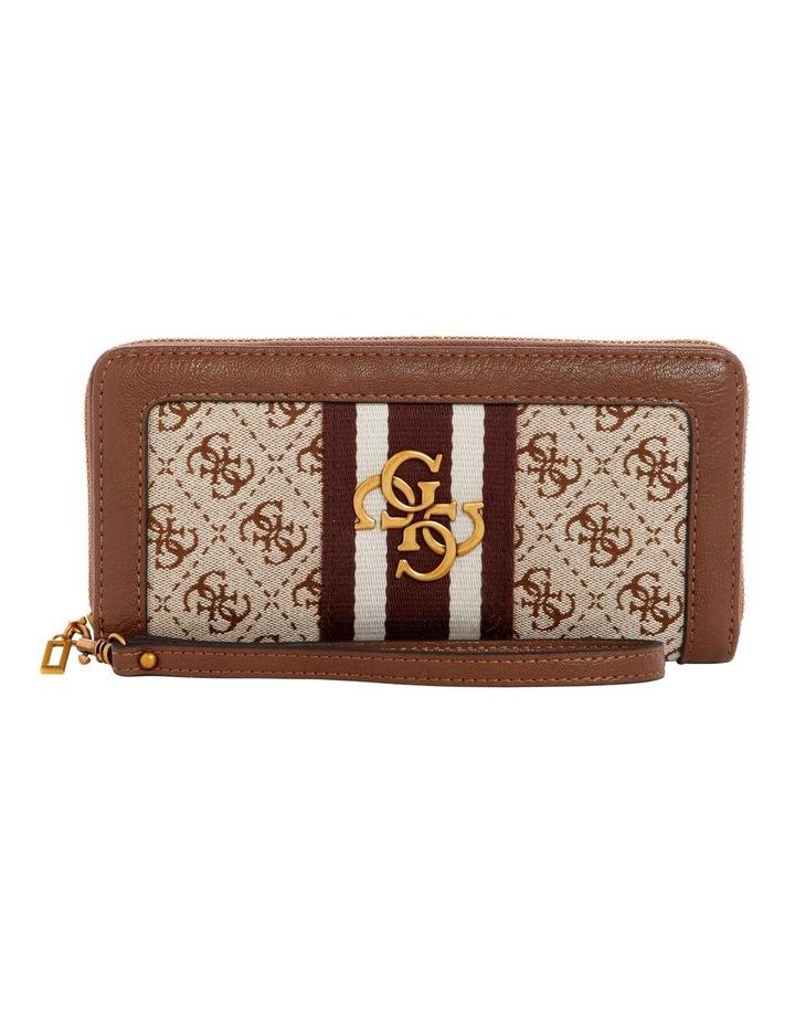 Guess Vintage Zip Around Wallet SB730446BRO image 1
