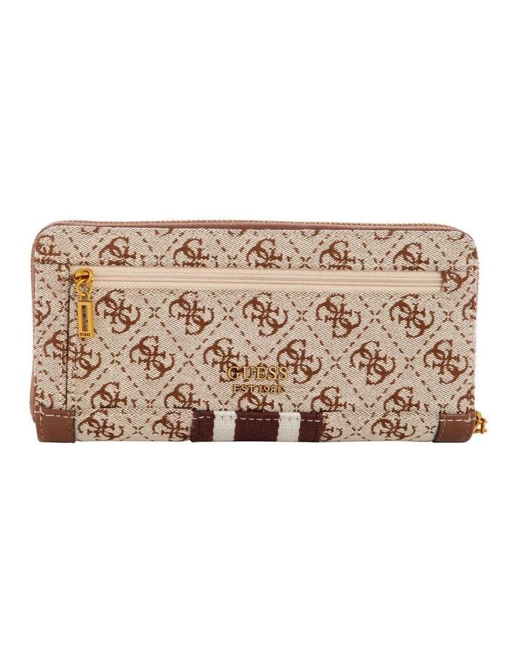 Guess Vintage Zip Around Wallet SB730446BRO image 2