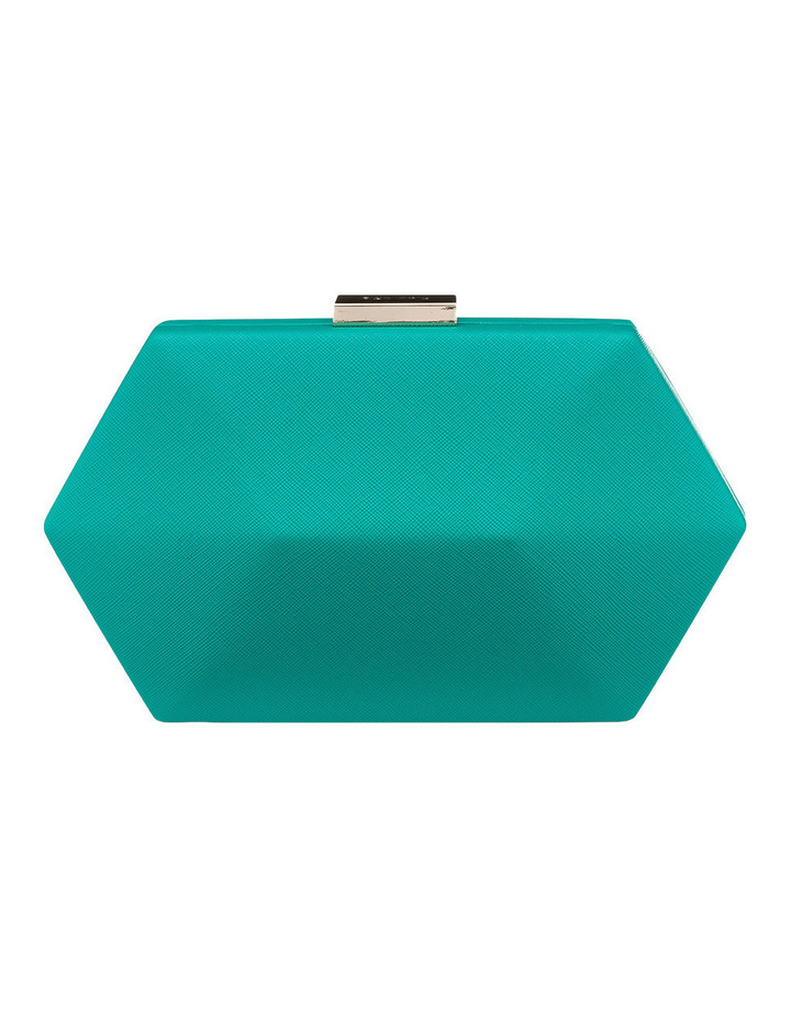 OB4453 Harley Saffiano Facetted Pod Clutch image 1