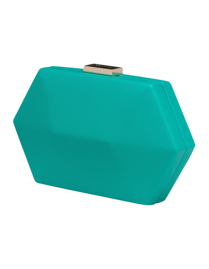 OB4453 Harley Saffiano Facetted Pod Clutch image 2
