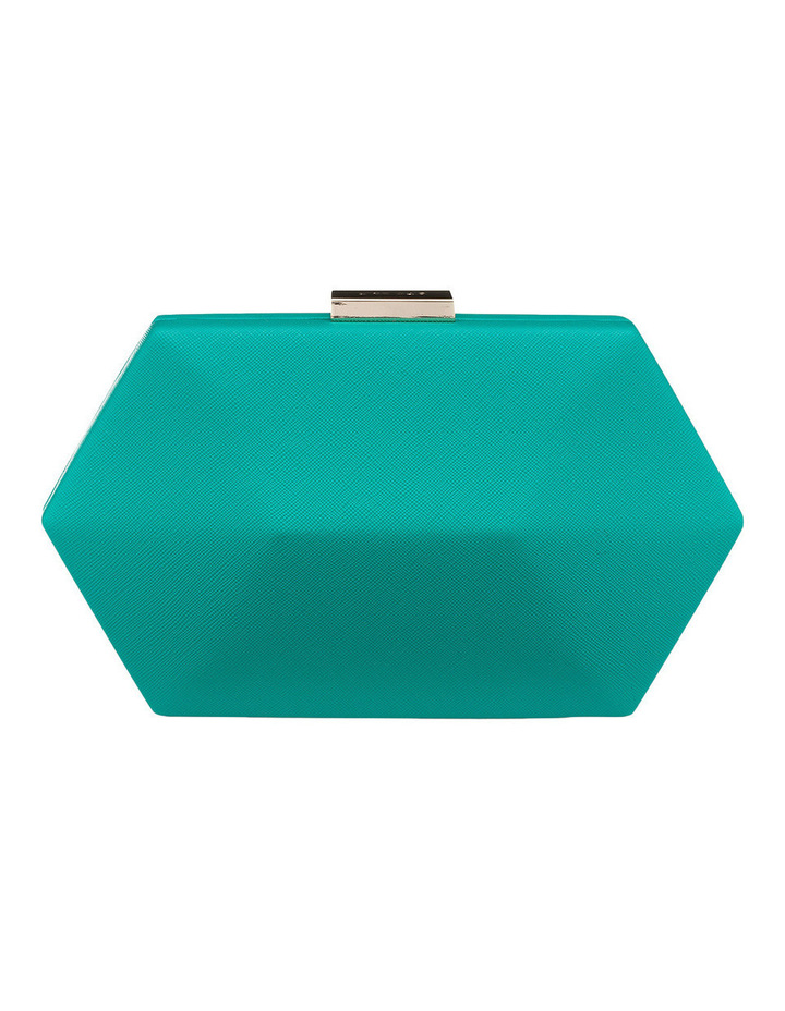 OB4453 Harley Saffiano Facetted Pod Clutch image 3