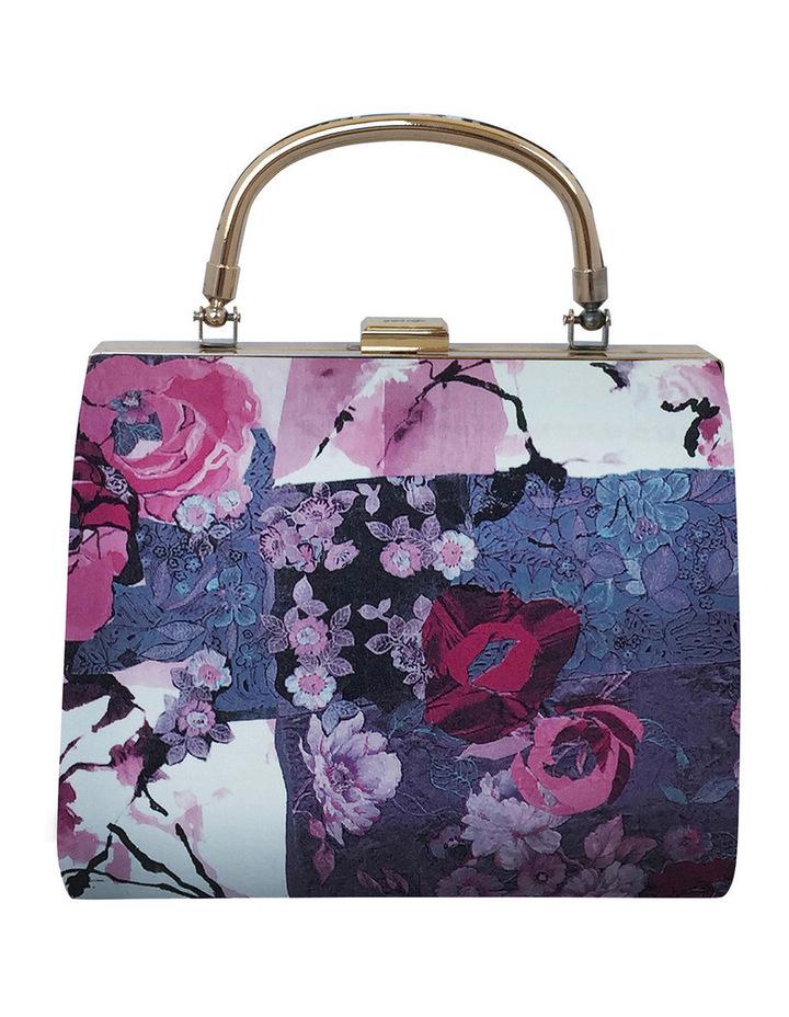 OB4490 Bella Blossom Print Top Handle image 3