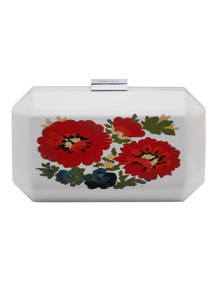OB7202 Paige Embroidery Pod Clutch image 1