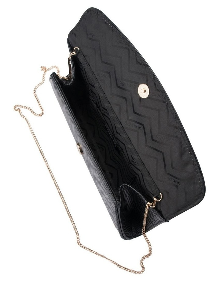OB4706 Kas Flap Over Clutch Bag image 4