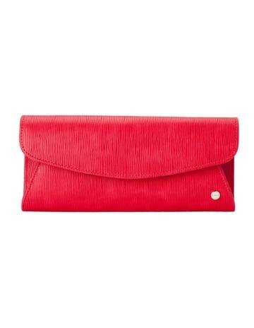 537a285740 Olga Berg OB4706 Kas Flap Over Clutch Bag