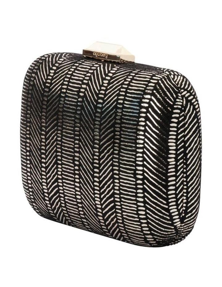 OB7363 REN  Hardcase Clutch Bag image 2