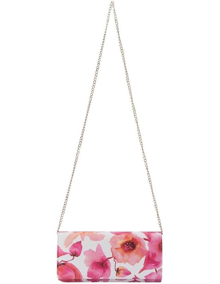 OB2022 Scarlet Flap Over Clutch Bag image 3