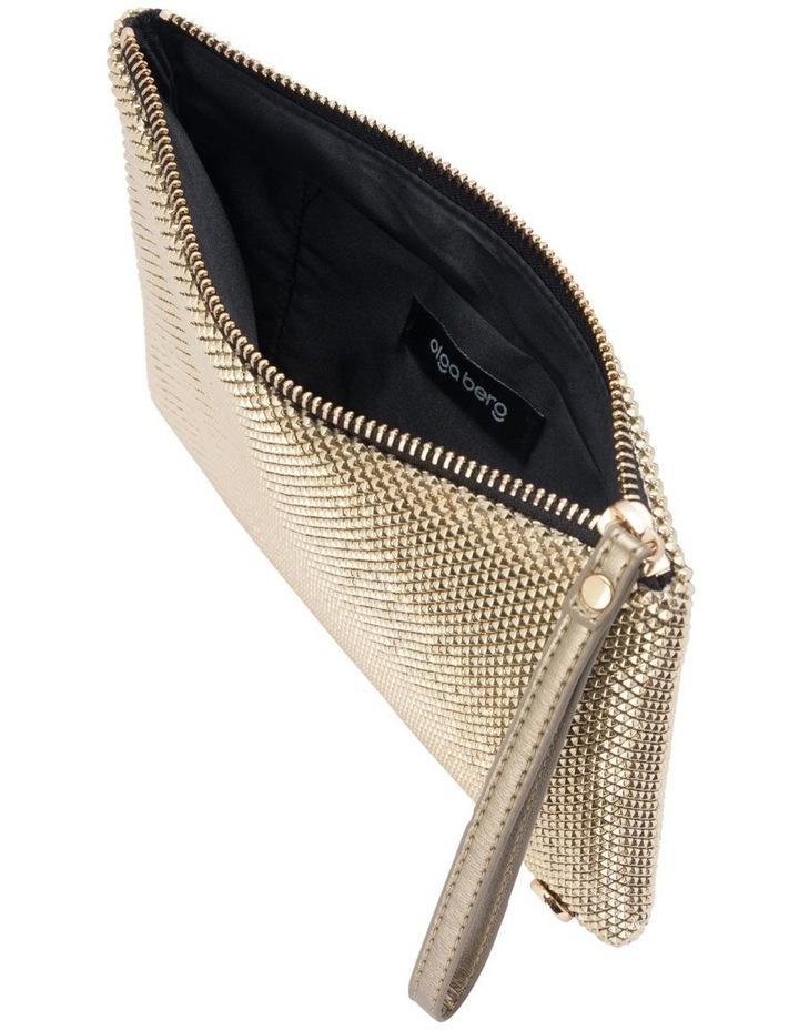 OB5258 Selena Zip Top Clutch Bag image 4