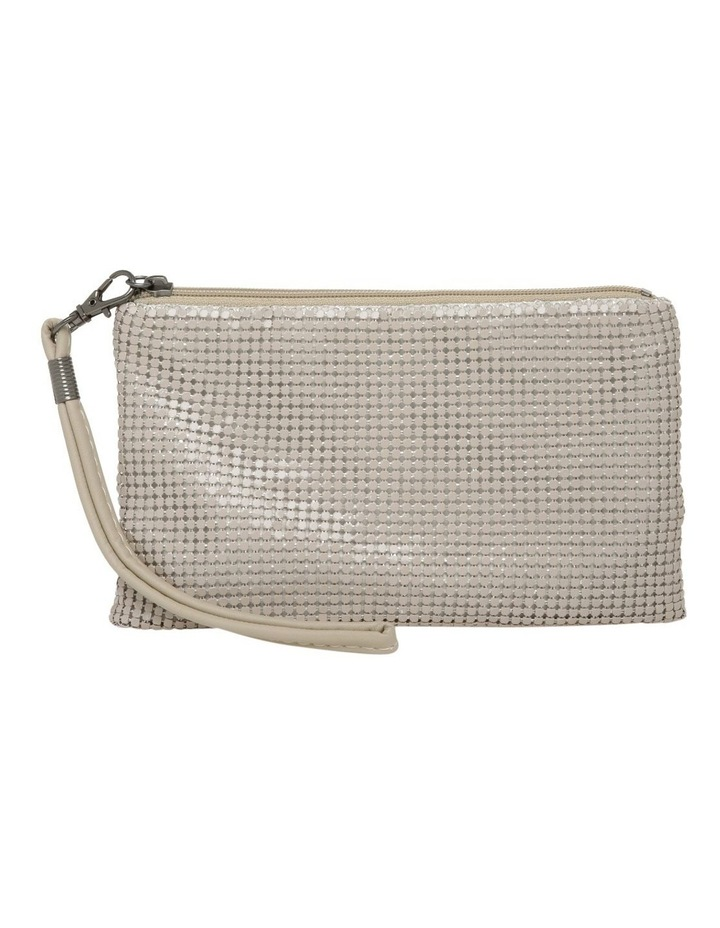 Mesh Wristlet in Natural image 1