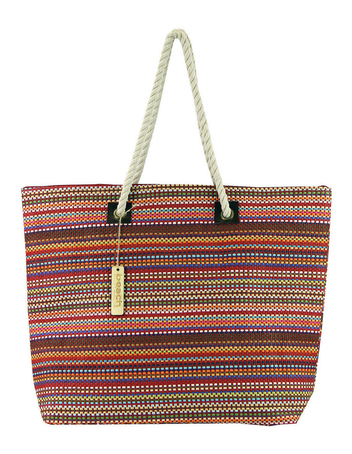 MY255-5 Striped Tote Bag image 1