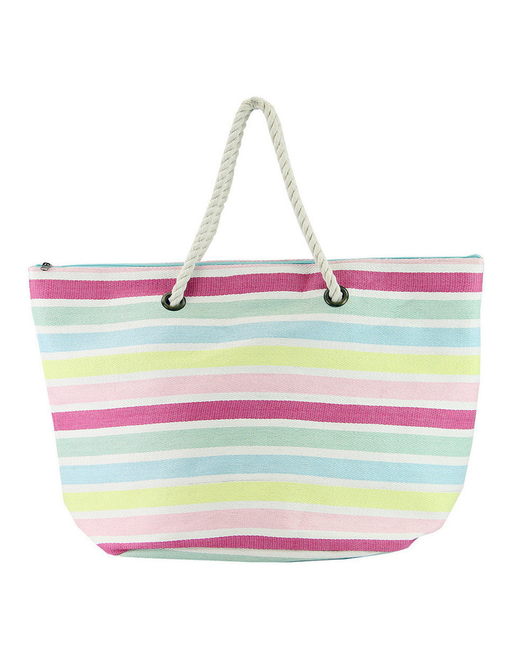 MY162-2 Striped Tote Bag image 1