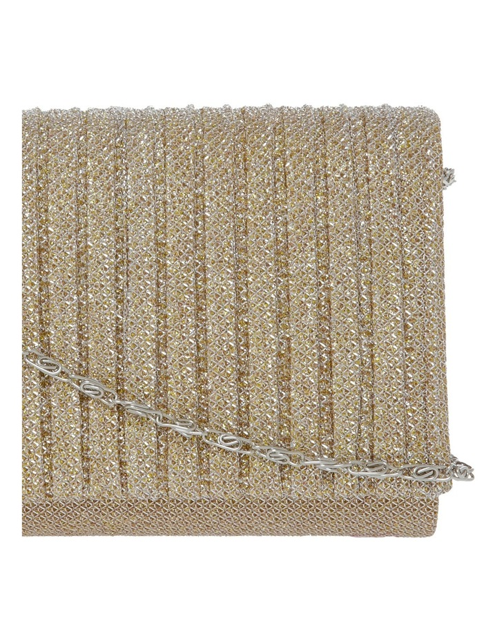 Pleated Flap Over Clutch Bag image 3