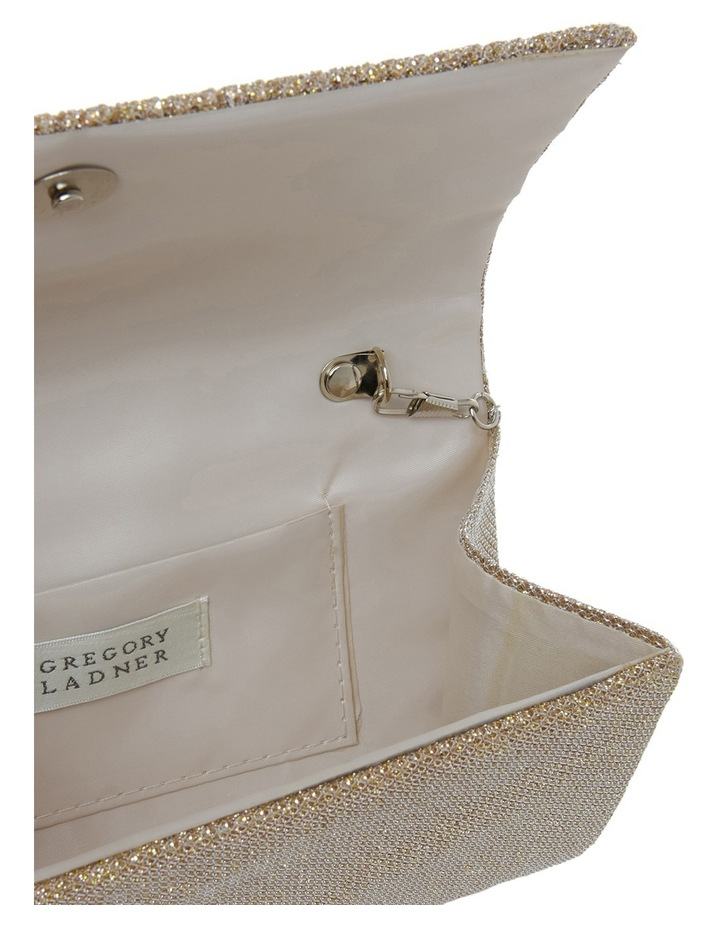 Pleated Flap Over Clutch Bag image 4