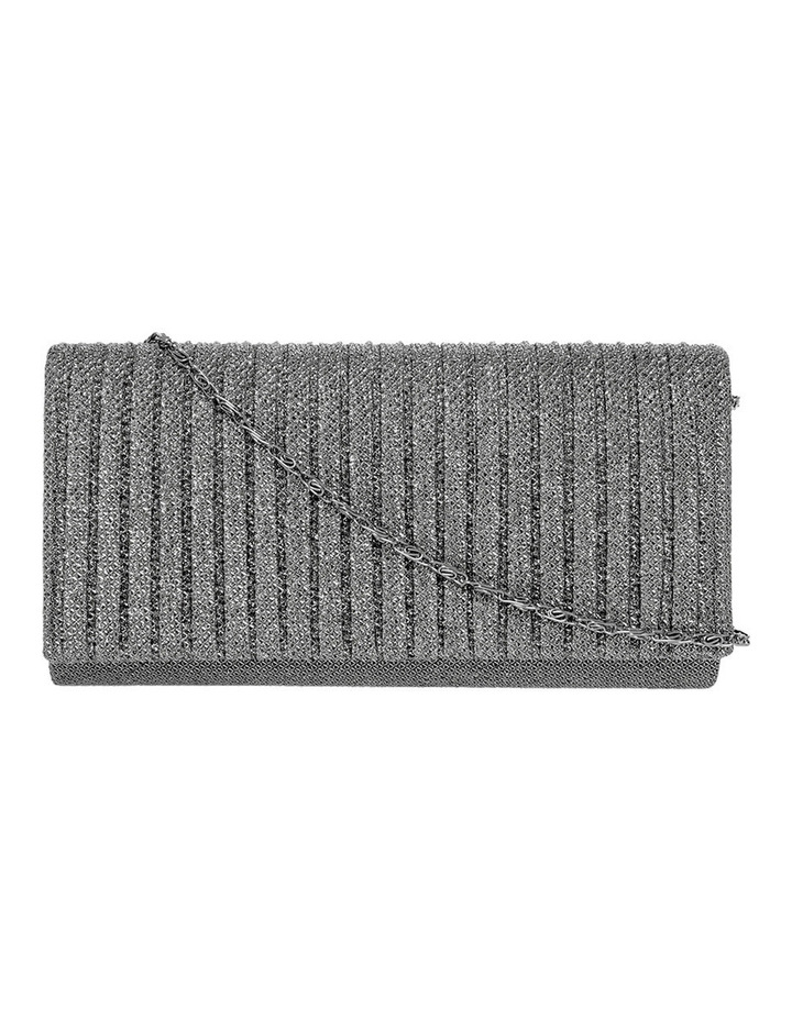 Pleated Flap Over Clutch Bag image 1