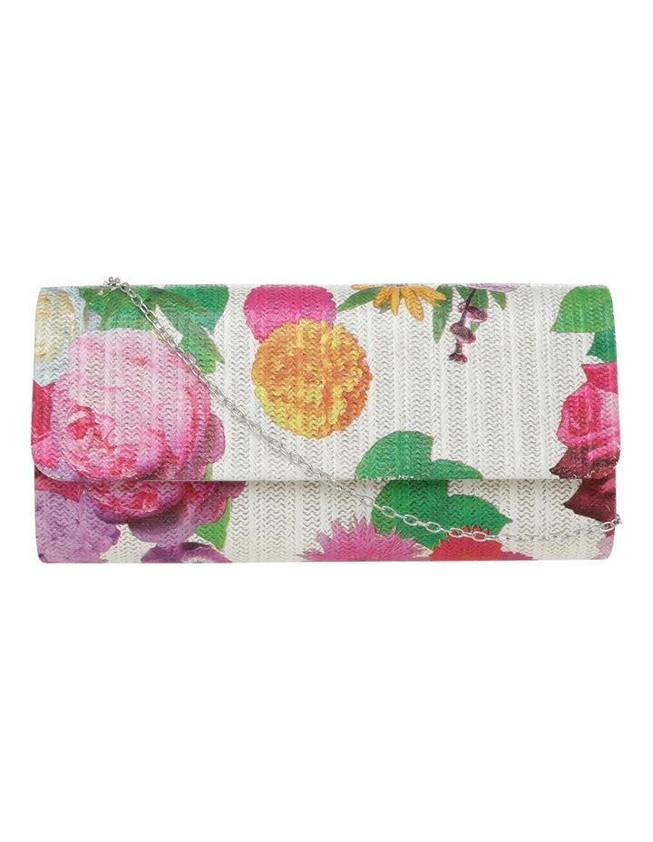 Floral Falp Over Clutch Bag image 1