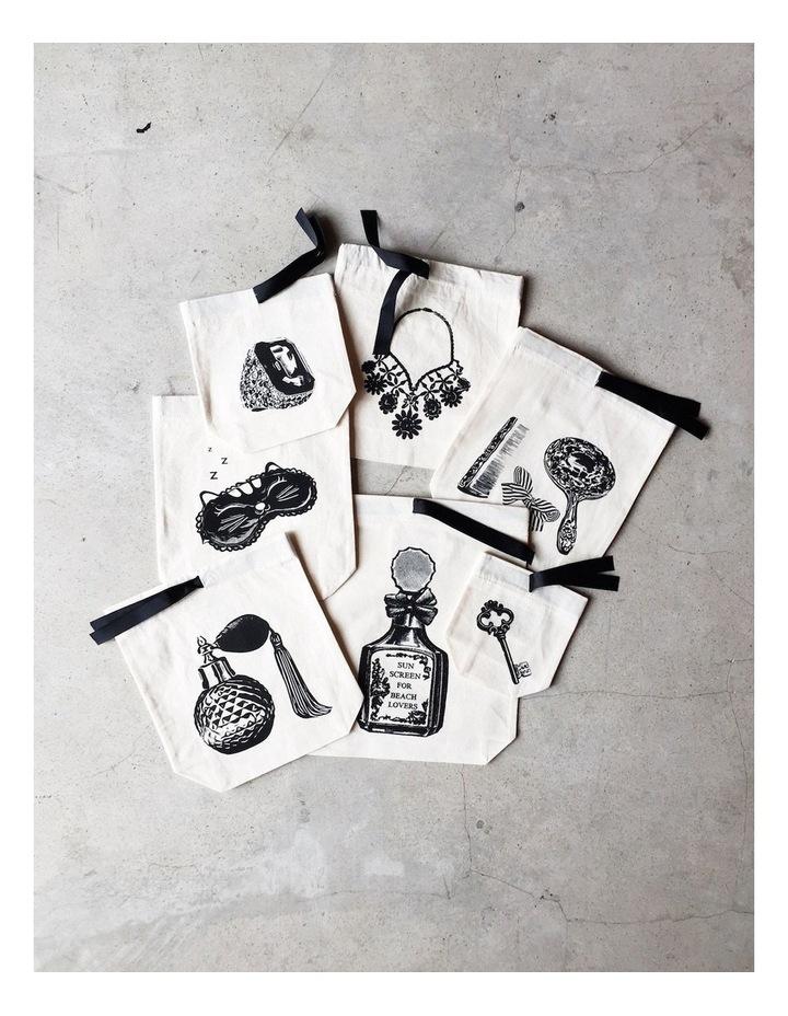 Medium Vanity Set Drawstring Bag image 2