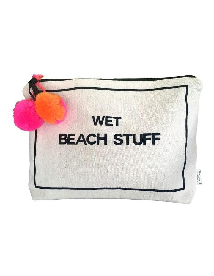 Wet Beach Stuff Zip Top Pouch image 1