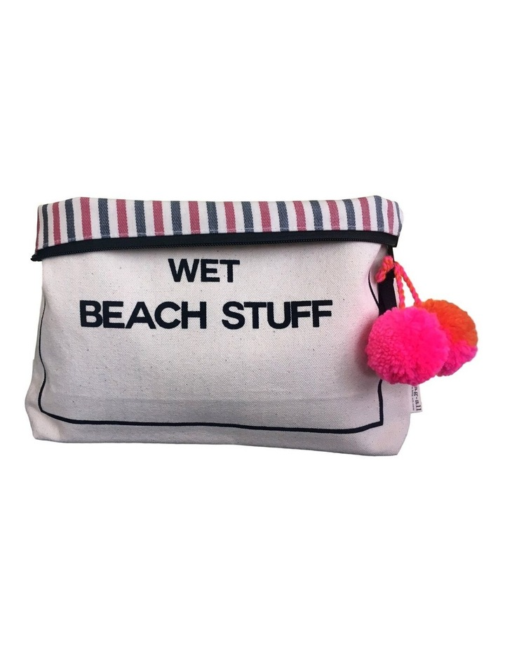 Wet Beach Stuff Zip Top Pouch image 2