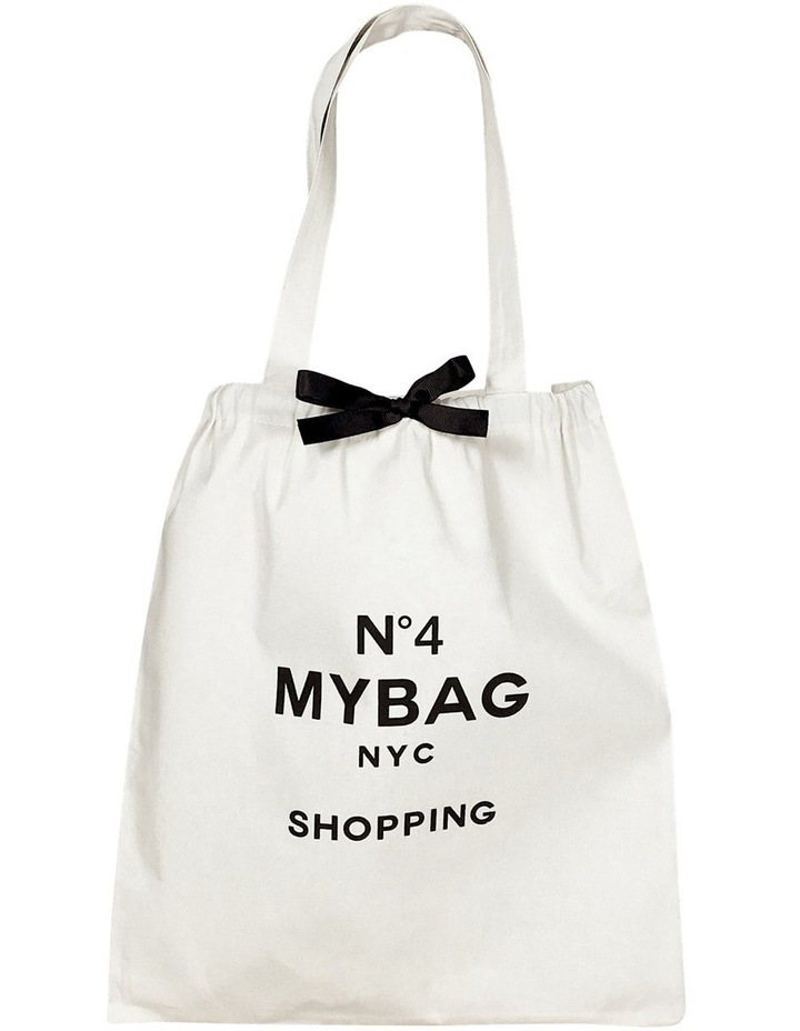 My Shopping Cotton Tote Bag image 1