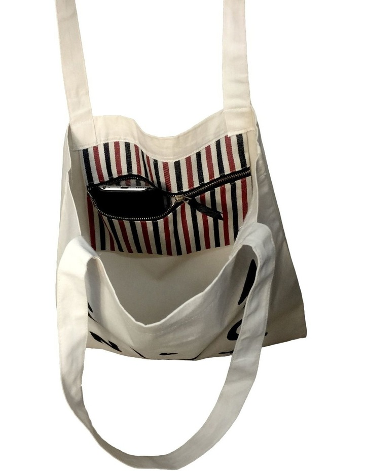 My Shopping Cotton Tote Bag image 2