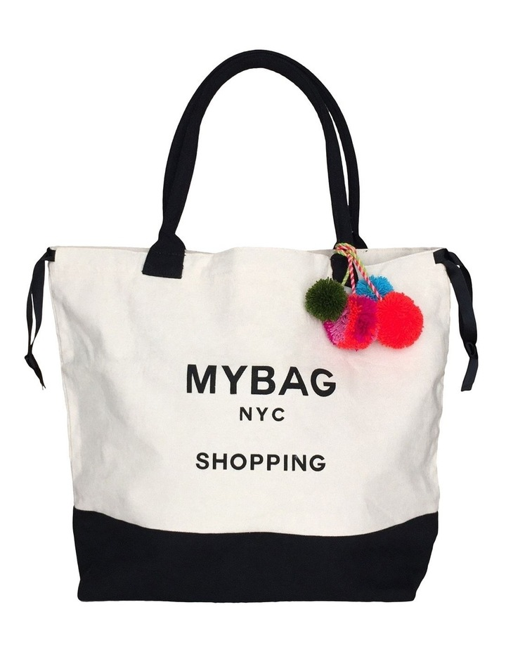 World Traveller Double Handle Tote Bag image 1