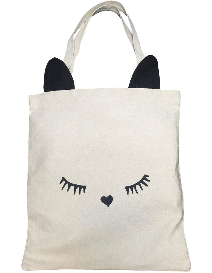 Cat Ear Tote Double Handle Tote Bag image 1