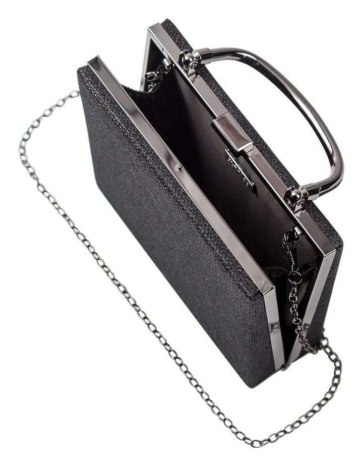 GBGP004M Square Top Handle Clutch Bag image 5