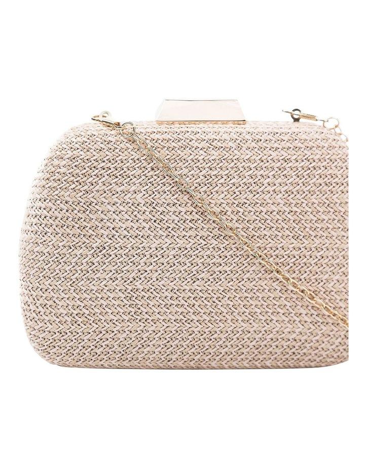 GBGP005M Woven Stitch Hardcase Clutch Bag image 3