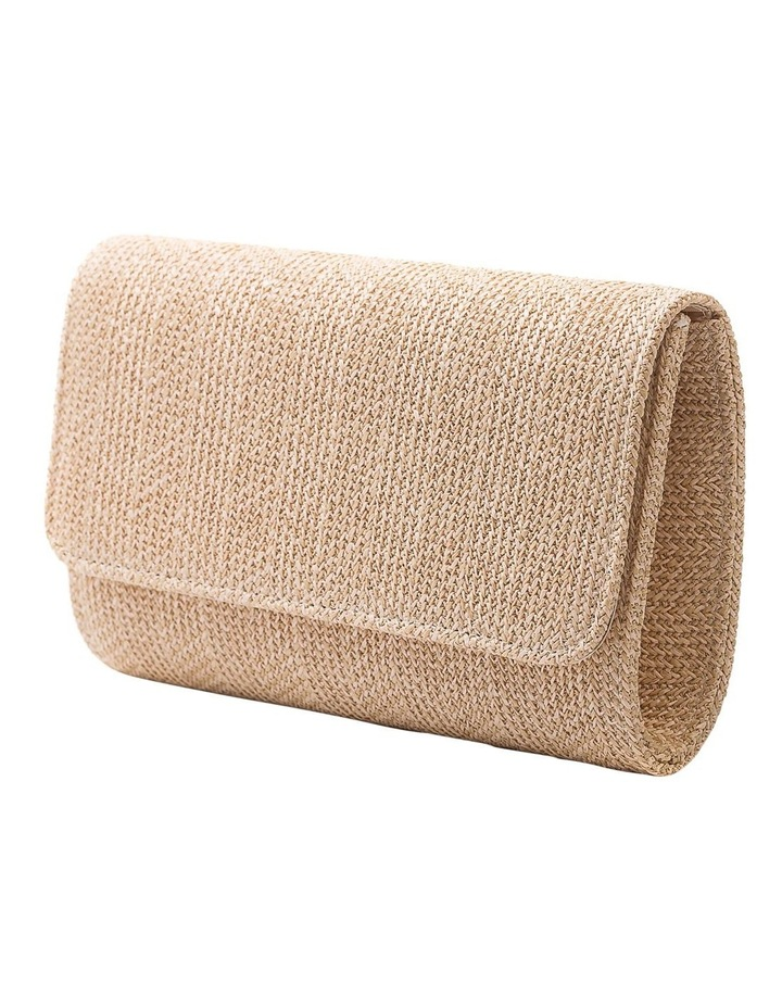 GBGP006M Woven Flap Over Clutch Bag image 2