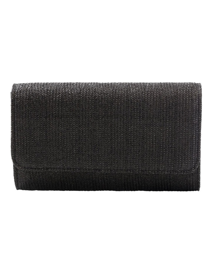 Woven Flap Over Clutch Bag GBGP006M image 1