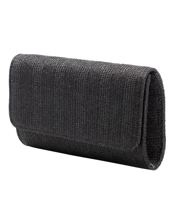 Woven Flap Over Clutch Bag GBGP006M image 2