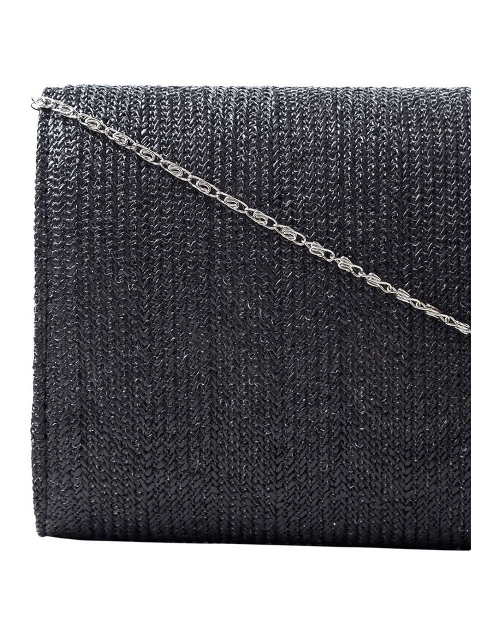 Woven Flap Over Clutch Bag GBGP006M image 3