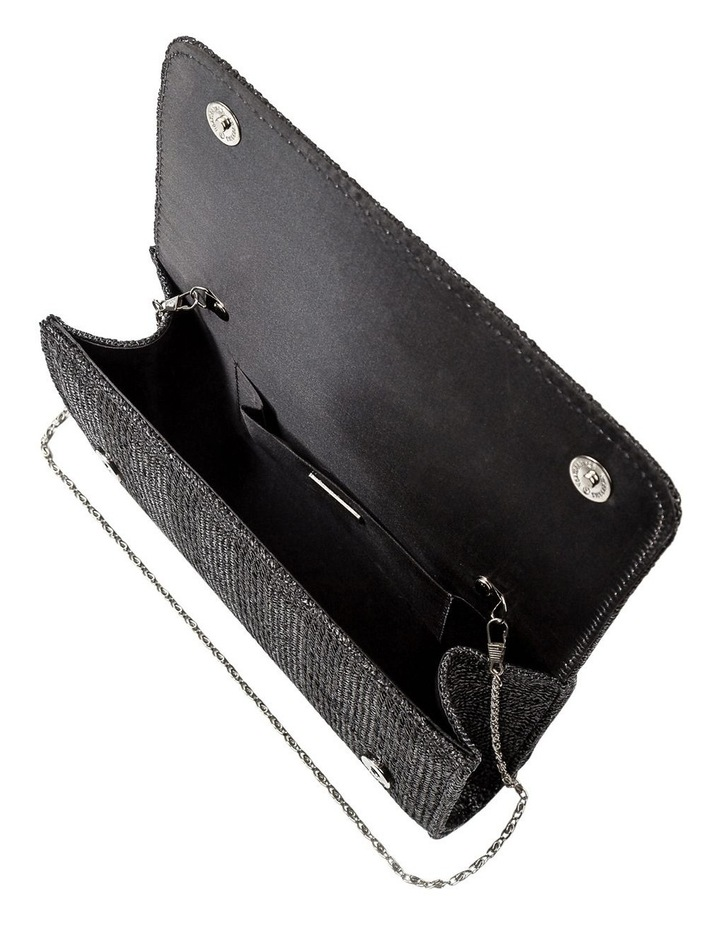 Woven Flap Over Clutch Bag GBGP006M image 5