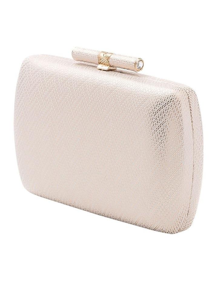 Embossed Hardcase Clutch Bag image 2