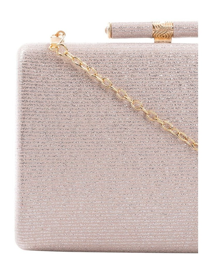 Stripe Hardcase Clutch Bag image 2