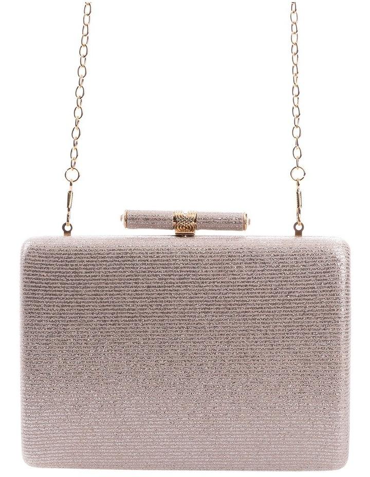 Stripe Hardcase Clutch Bag image 3