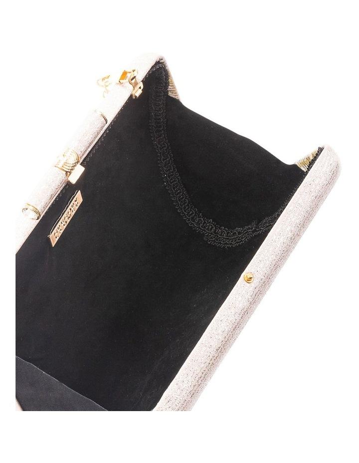 Stripe Hardcase Clutch Bag image 4